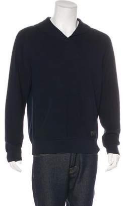 Louis Vuitton Wool Shawl Sweater