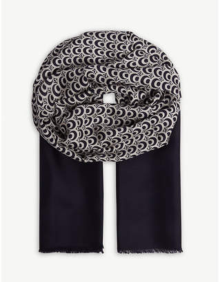 Max Mara S Patterned silk stole