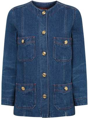 Gucci Denim Four-Pocket Jacket