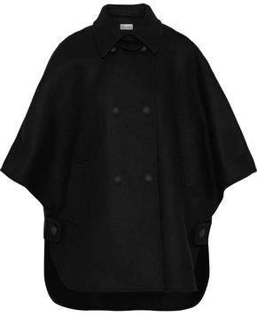 RED Valentino Double-Breasted Wool-Blend Felt Cape