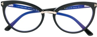 Tom Ford cat-eye frame glasses