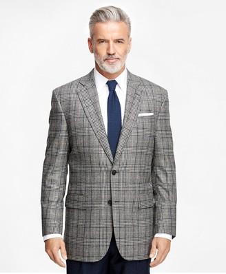 Brooks Brothers Madison Fit Saxxon Wool Plaid with Deco Sport Coat