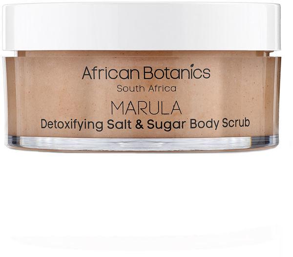 African Botanics Marula Detoxifying Salt and Sugar Body Scrub