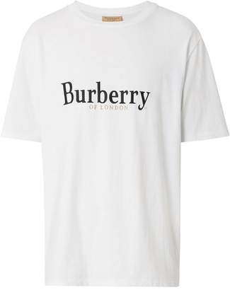 Burberry archive logo T-shirt
