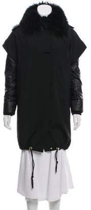 Gucci Fur-Trimmed Wool Parka