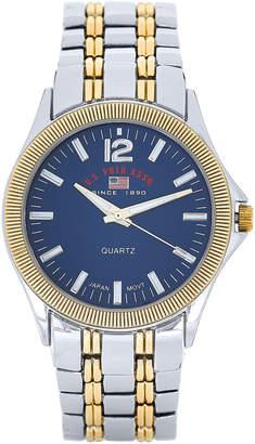 U.S. Polo Assn. US8625 Silver-Tone & Gold-Tone Bracelet Watch