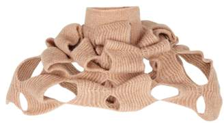 Crea Concept Rose Cut-out Knitted Snood