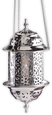 Modern Morocco Hanging Lantern Tea Light Holder