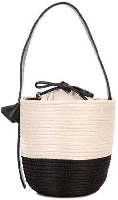 Cesta Collective two-tone bucket bag