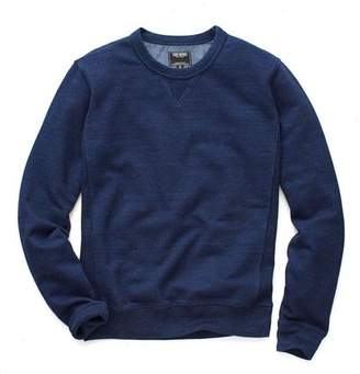Todd Snyder Indigo Crew Sweatshirt in Indigo