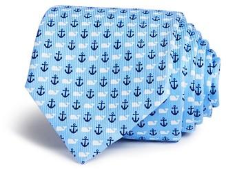 Vineyard Vines Anchor & Whale Wide Tie $85 thestylecure.com