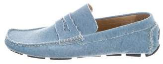 Billy Reid Canvas Driving Loafers w/ Tags
