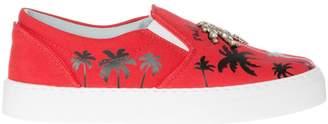 Chiara Ferragni Suite Slip On Sneakers