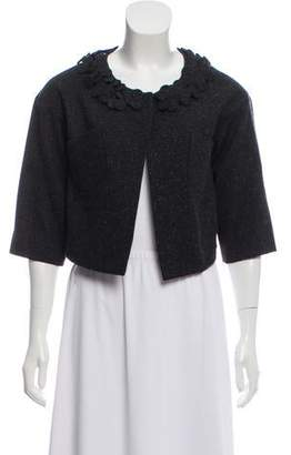 Robert Rodriguez Donegal Knit Embellished Bolero