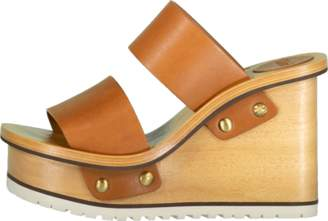 Chloé Double Strap Wedge