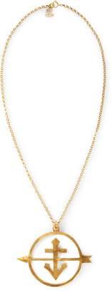 Ralph Lauren Gold-Plated Anchor Necklace