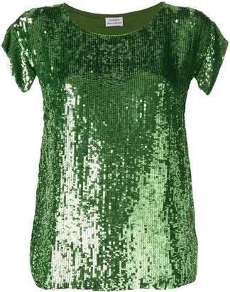 P.A.R.O.S.H. green sequin topshr