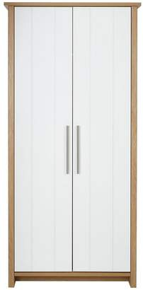 Consort Furniture Limited Walden Ready Assembled 2 Door Wardrobe