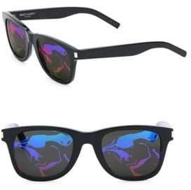 Saint Laurent Patterned Tinted Sunglasses