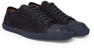 Dries Van Noten Cap-Toe Suede Sneakers
