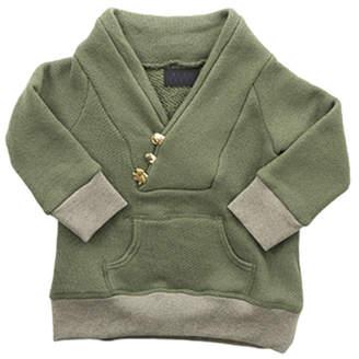 Blue & Cream Blue&Cream Shawl Neck Safari Infant Sweatshirt