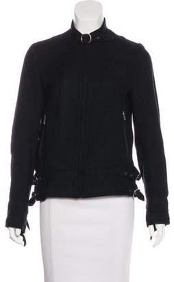 Veronique Branquinho Silk Twill Jacket