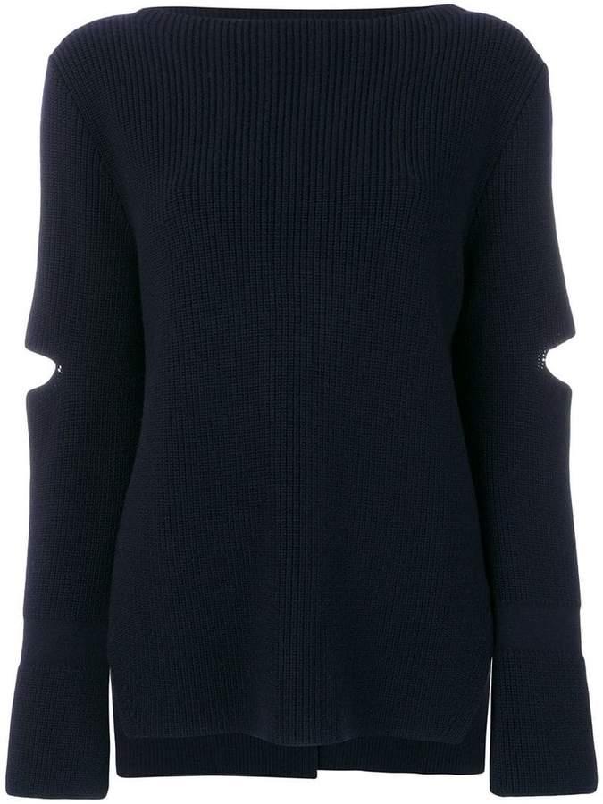 Stella McCartney slit detail sweater