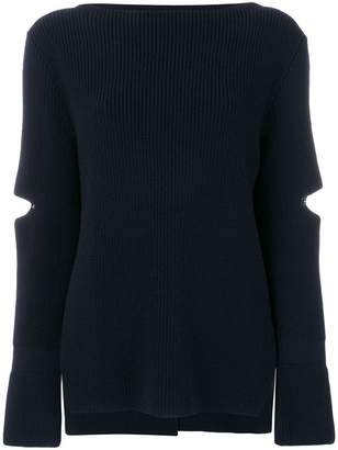 Stella McCartney slit detail sweater