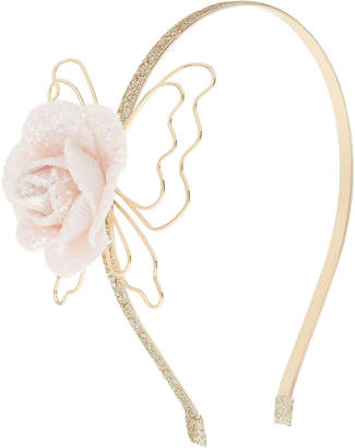Monsoon Nora Glitter Flower Alice Hair Band
