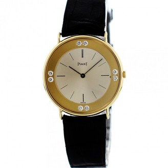 Piaget Altiplano Black Yellow gold Watches
