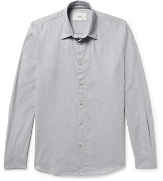 Folk Storm Slim-Fit Cotton-Flannel Shirt
