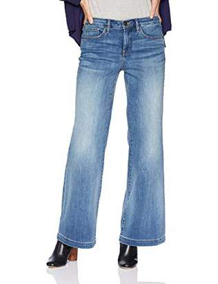 "NYDJ Women's Wide Leg Trouser with Clean Hem Short Inseam 31"" Cabrillo"