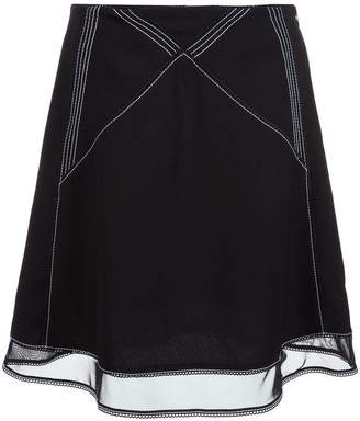 J.W.Anderson stitching details skirt