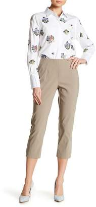 Insight Techno Faux Fly Crop Pants