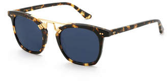Lafayette KREWE Polarized Acetate & Metal Sunglasses