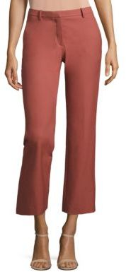 Theory Hartsdale Approach Straight-Leg Pants $275 thestylecure.com