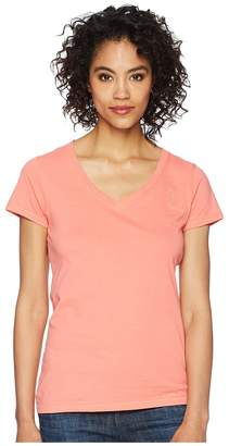 U.S. Polo Assn. Solid V-Neck Tee Women's Short Sleeve Pullover