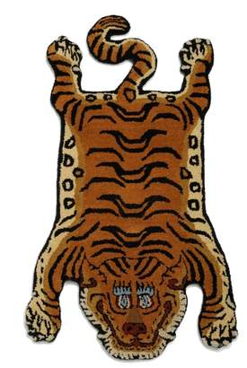 LITTLE UNION TOKYO 【DETAIL】D Tibetan Tiger Rug DTTR-01/Small