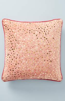 Anthropologie Confetti Velvet Accent Pillow