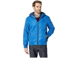 U.S. Polo Assn. Rib Cuff Hooded Jacket Men's Coat