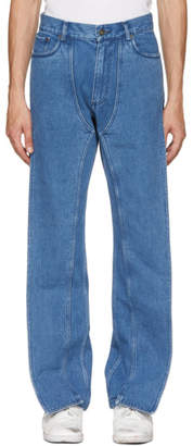 Y/Project Blue XL Pocket Jeans