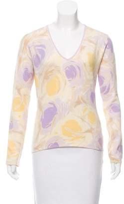 Loro Piana Floral Cashmere Sweater