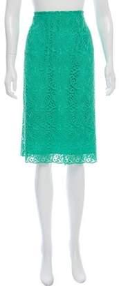 Marina Rinaldi Lace Knee-Length Skirt