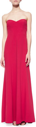 BCBGMAXAZRIA Strapless Sweetheart Column Gown $398 thestylecure.com