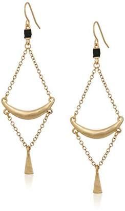 The Sak Crescent Trapeze Drop Earrings