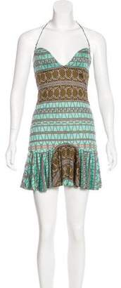 Mara Hoffman Mini Halter Dress