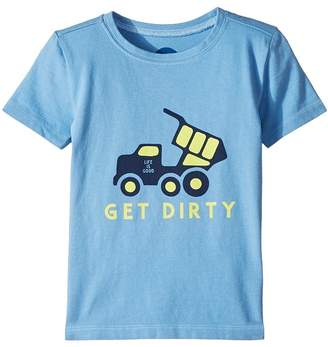 Life is Good Get Dirty Crusher Tee Kid's Clothing