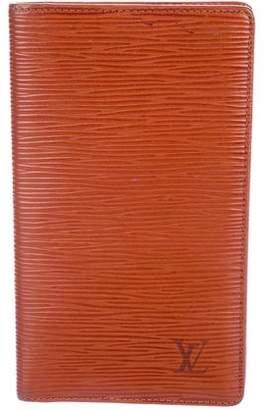 Louis Vuitton Epi Checkbook Cover