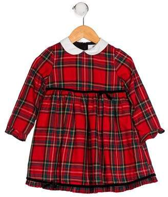 Florence Eiseman Long Sleeve Plaid Dress