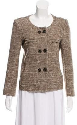 Etoile Isabel Marant Double-Breasted Knit Jacket